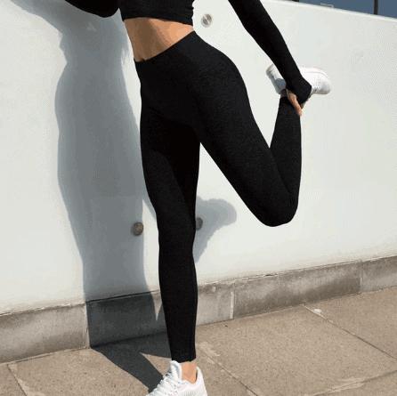 yoga pants with shirt dress