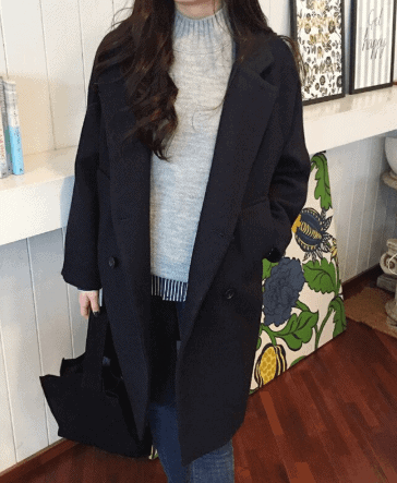 coat with yoga pants outfit