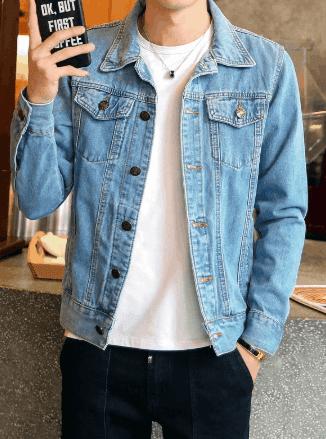 denim jacket for teenage boys
