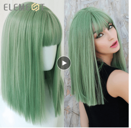 top bob synthetic wig aliexpress