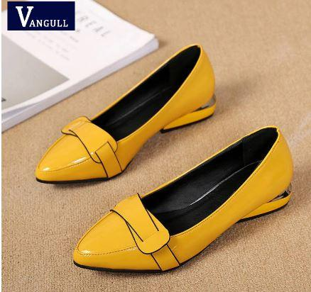 mustard loafers for black dress