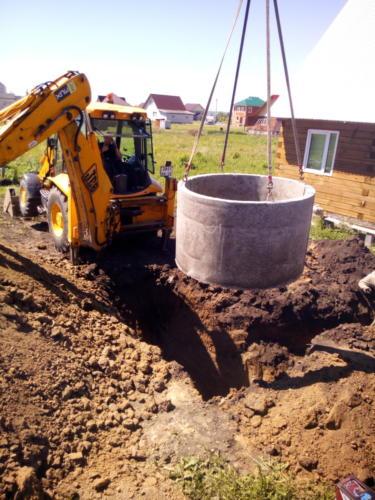 Копка ям для канализаций