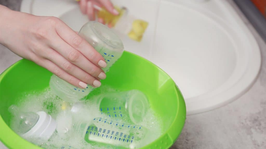 baby dish soap for baby bottles and pacifiers