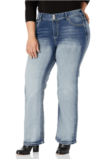 best jeans for curvy moms
