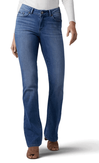 jeans for curvy moms