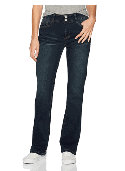 top jeans for curvy moms