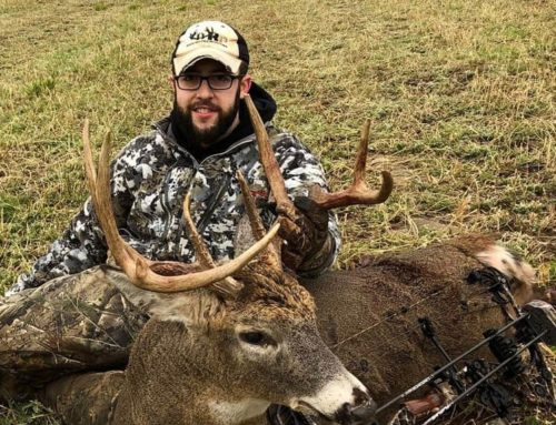 "Wisconsin Bowhunter Tags 10-Point ""Sneezy"" Buck"