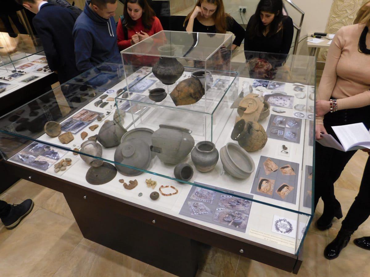 виставка в Музеї археології