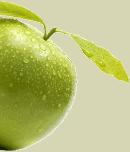 Transparent image apple