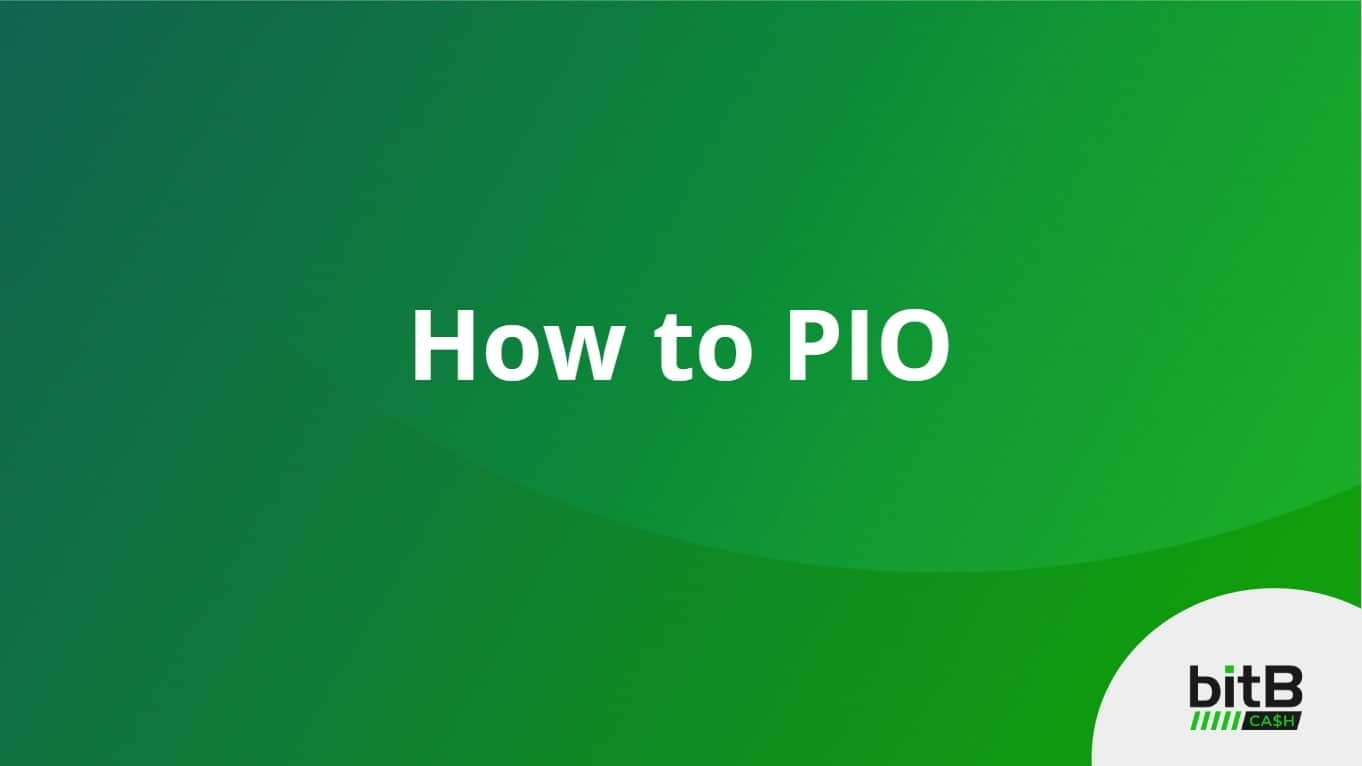 How to PIO