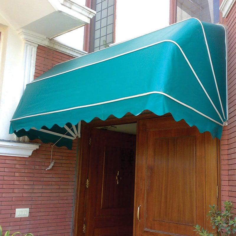 canopy kain lengkung