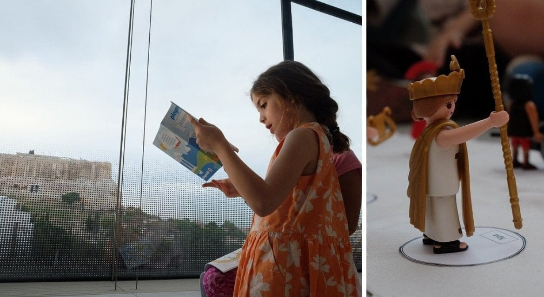 Μια ξενάγηση στο Μουσείο της Ακρόπολης μαζί με τους 12 αρχαίους Έλληνες θεούς της Playmobil