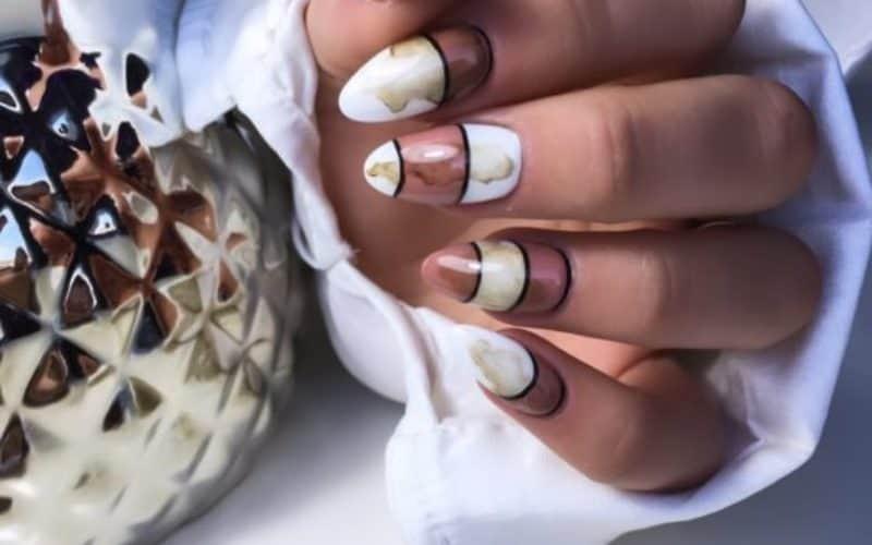 brązowe_paznokcie_hybrydowe