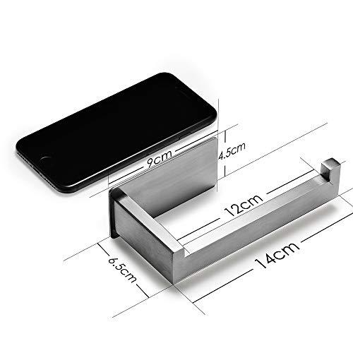 Auxmir Toilettenpapierhalter, selbstklebend - 5