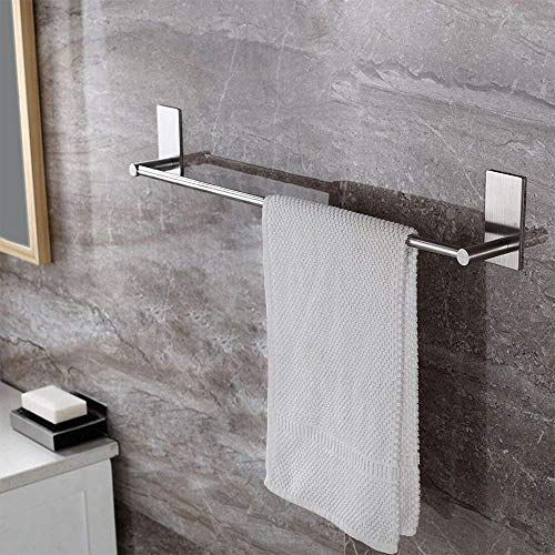 ZUNTO Handtuchhalter/Handtuchstange selbstklebend