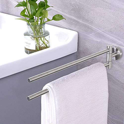 Dailyart Edelstahl Handtuchhalter zum kleben - 4