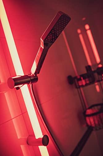 WENKO Duschstangen Set mit beleuchteter LED Duschstange - 15