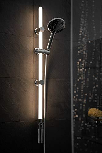 WENKO Duschstangen Set mit beleuchteter LED Duschstange - 3
