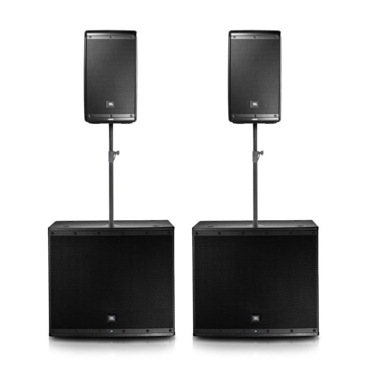 JBL Pro Audio 4000W Speakers