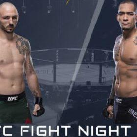 Видео боя Ландо Ванната — Янси Медейрос / UFC Fight Night 167