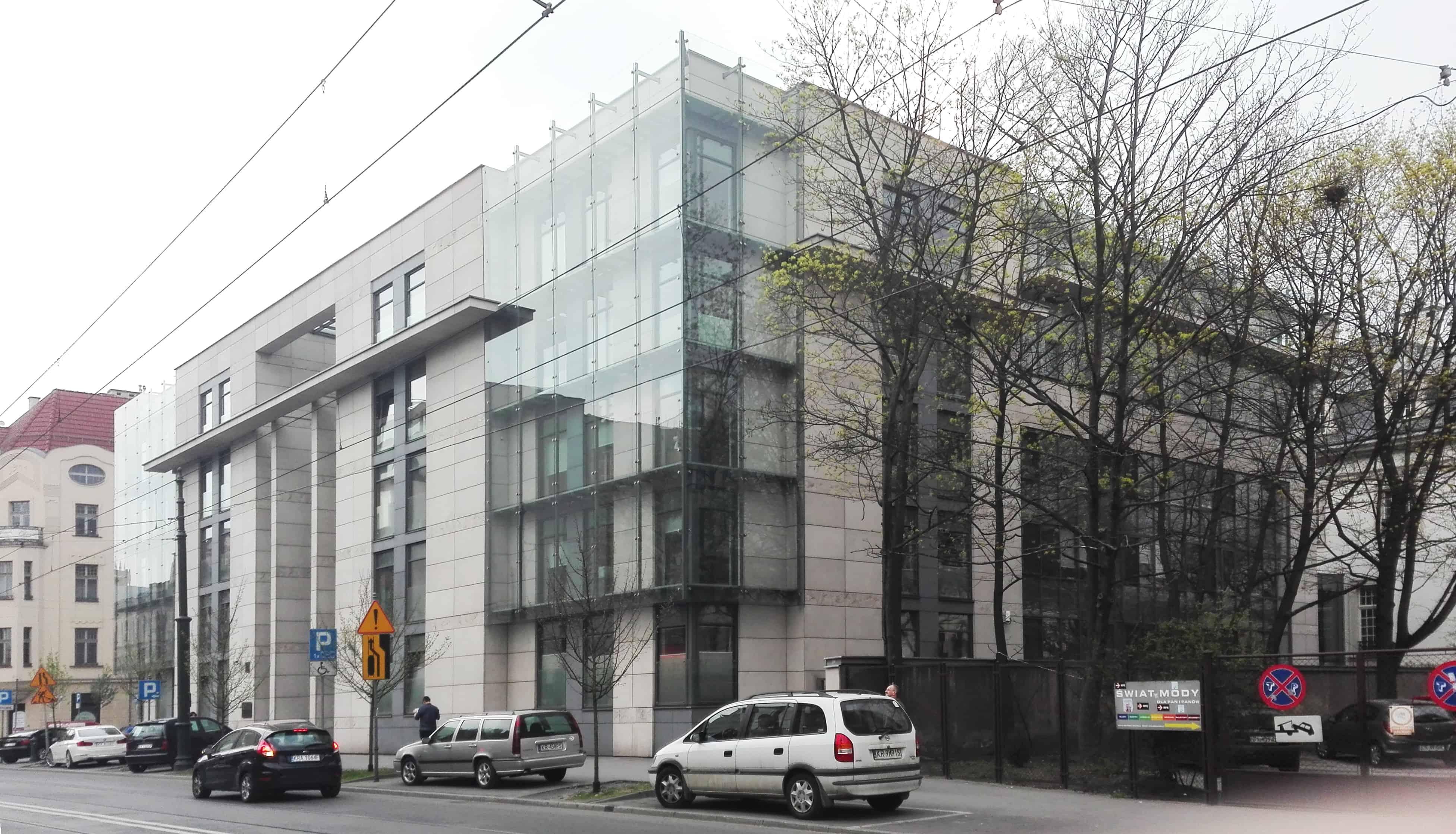 Nadbudowa skrzydła wojewódzkiego Sądu Administracyjnego wKrakowie