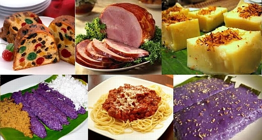 filipino christmas foods