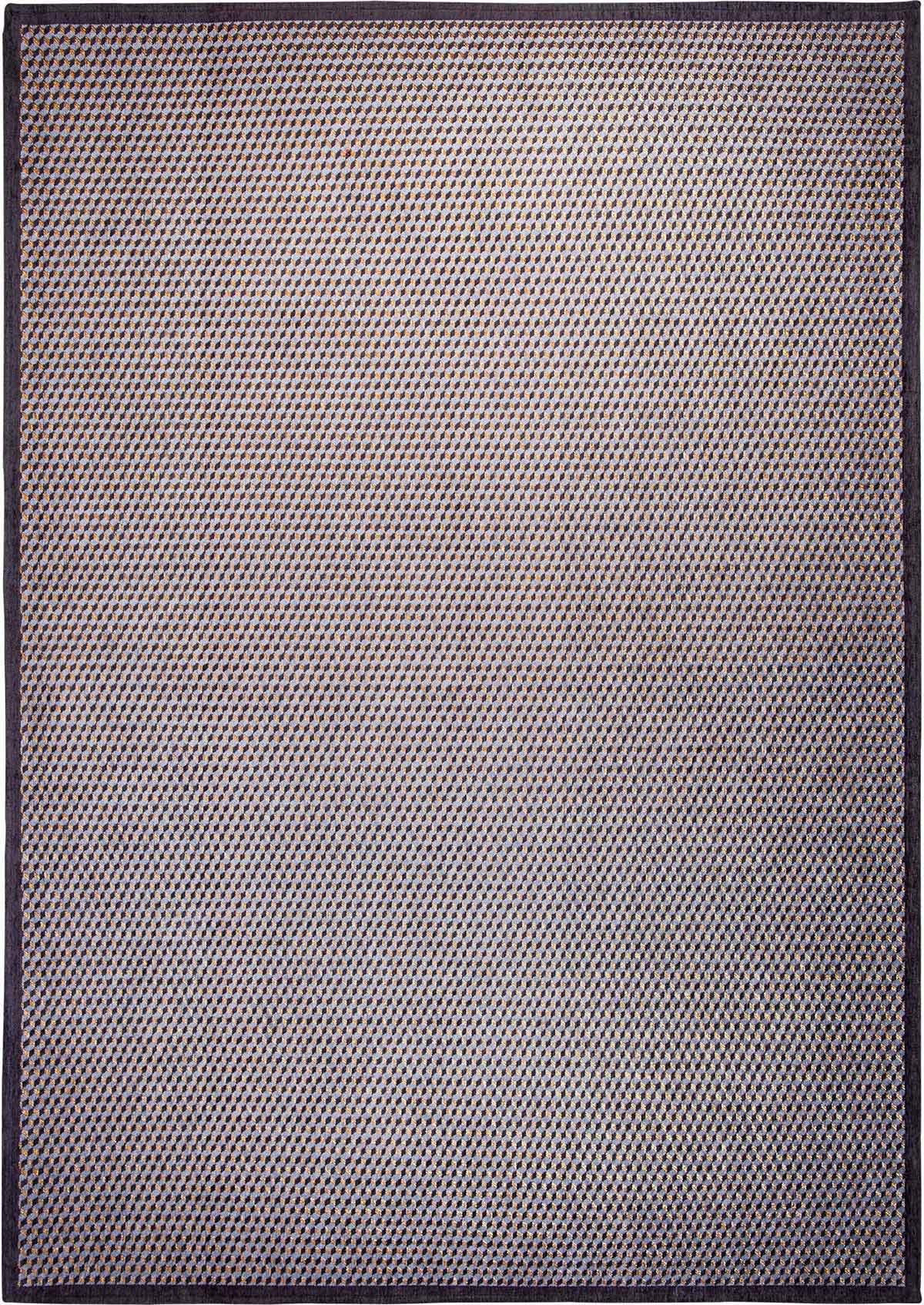 szaro zloty dywan nowoczesny Cubetti Grafite 9030