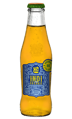 Soft Drinks Indi Seville Orange Botella Organic