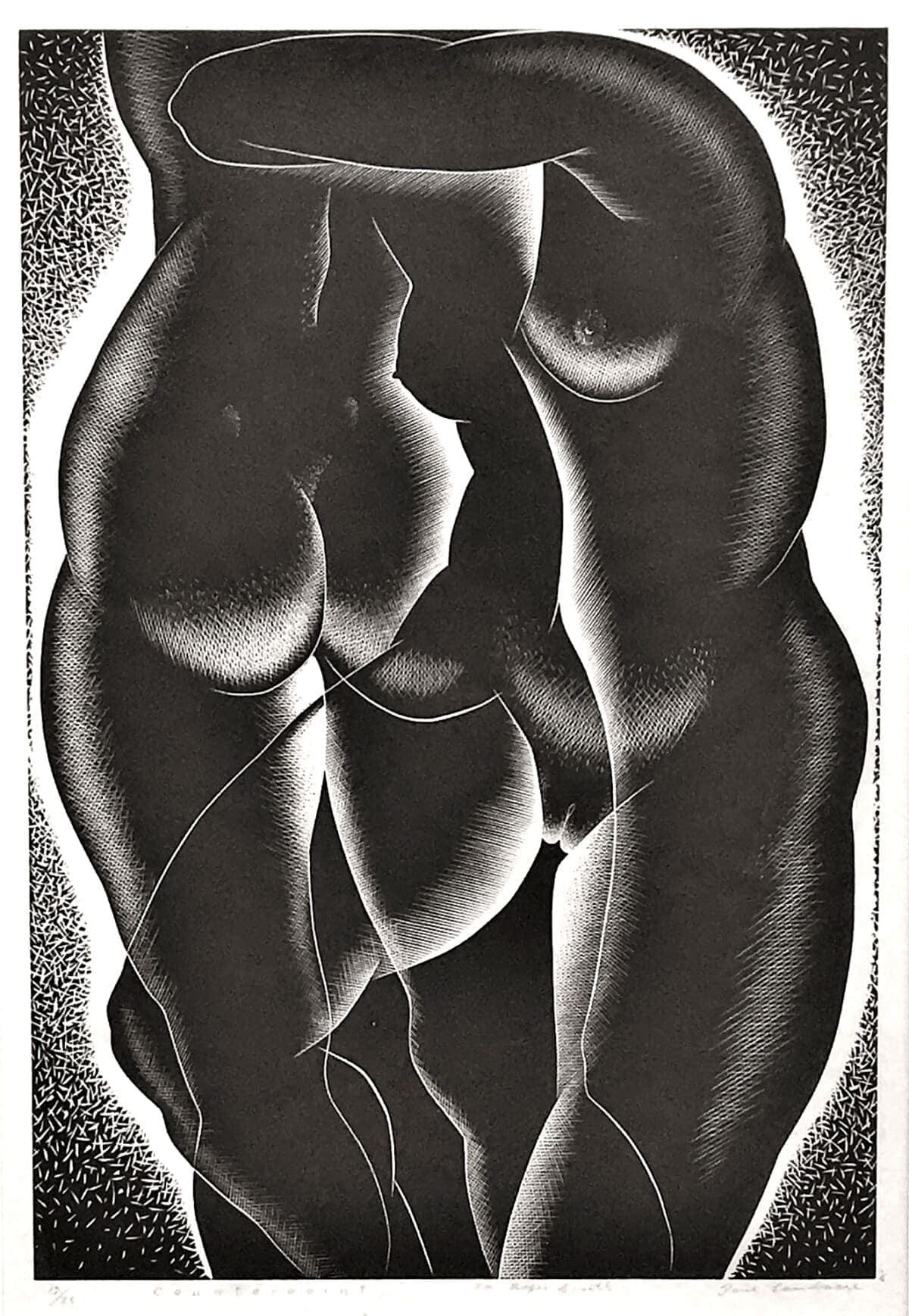 LANDACRE-Counterpoint, 1937