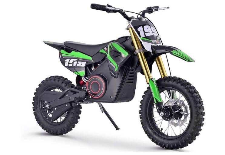 MotoTec 24v Green 36v Pro Electric Dirt Bike
