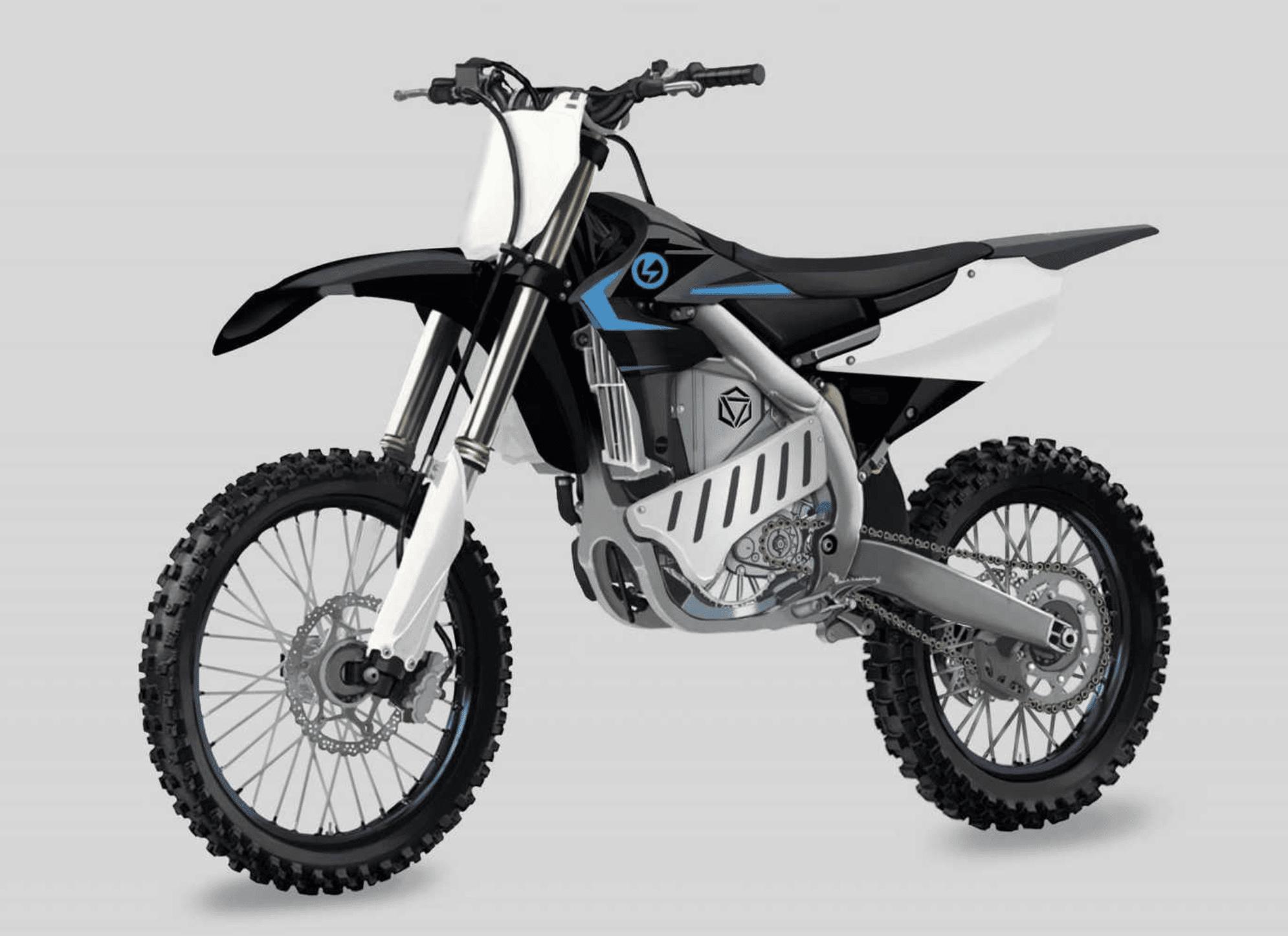 Yamaha Prototype electric dirt bike
