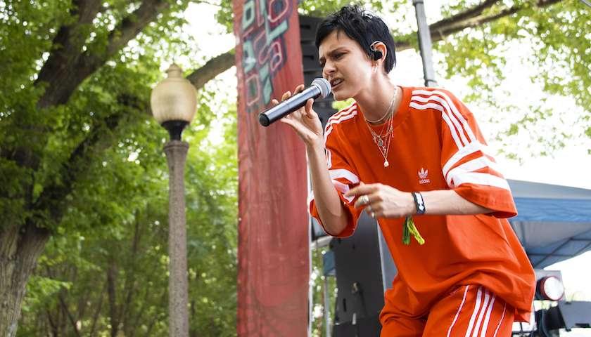 Morgan Saint Captivates BMI Stage at Lollapalooza