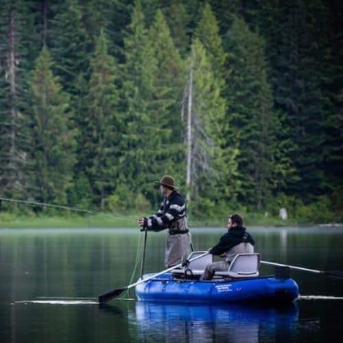 JUNE LAKE FISHING IN WHISTLER BC