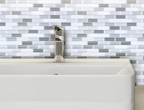 Smart and Cheap Bathroom Backsplash Ideas