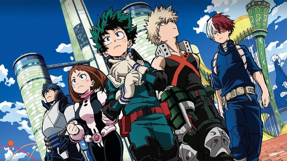 my hero academia introduction characters