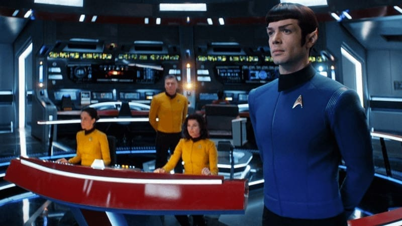 An image from 'Star Trek: Short Treks' Season 2 trailer.
