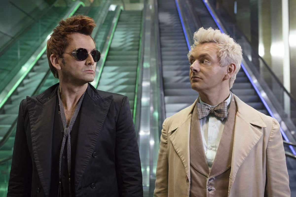 Crowley and Aziraphale