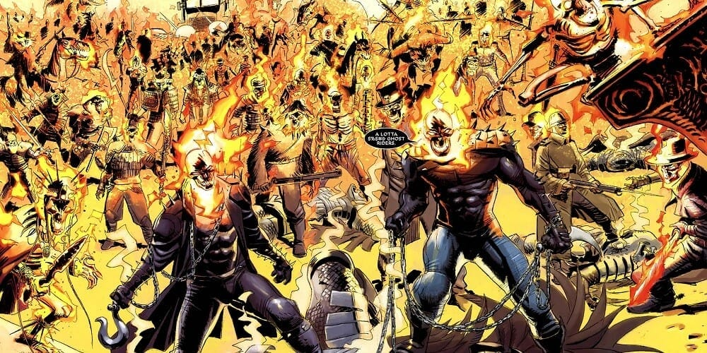Ghost Rider Live-Action Series Featured