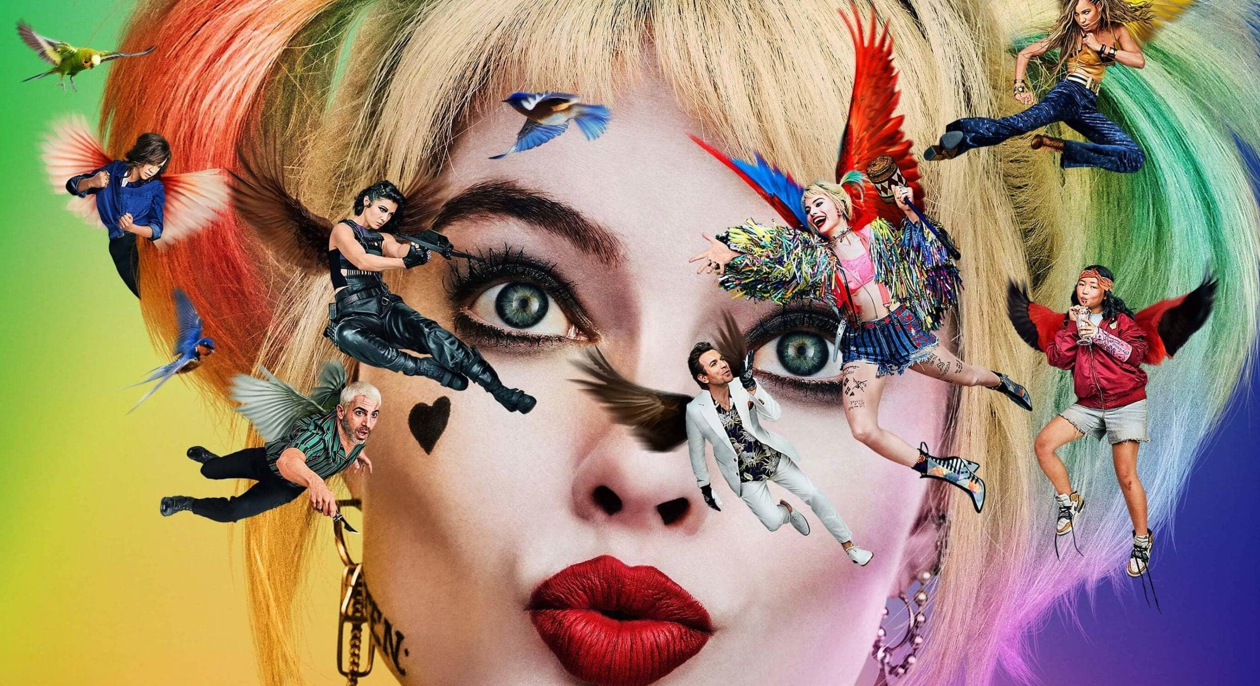 New Birds of Prey Poster Movie Leaks
