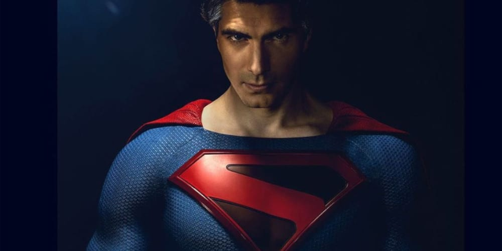 Brandon Routh as Kingdom Come Superman Again in The CW Crisis crossover