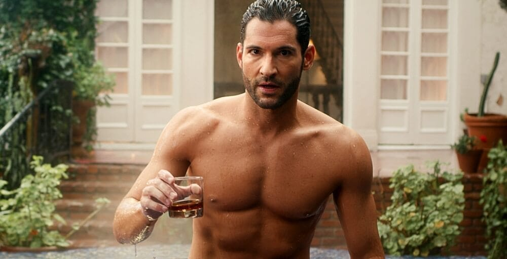 Lucifer Crisis On Infinit Earths Shirtless