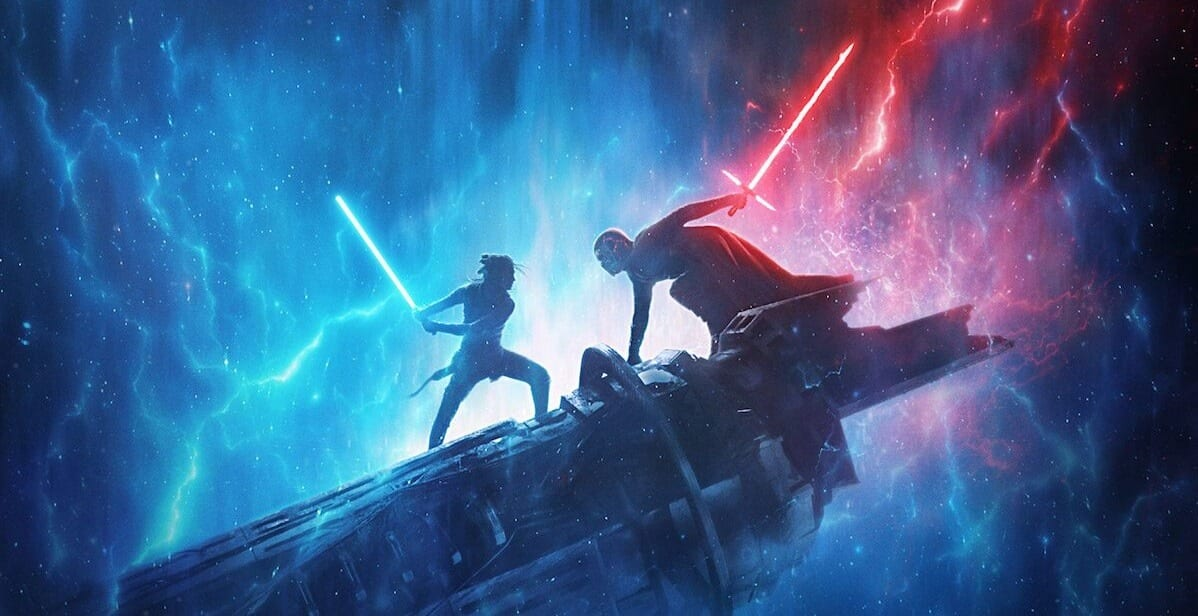 Bob Iger Star Wars Less Is More Rise of Skywalker Poster
