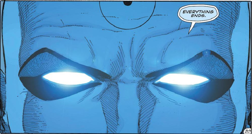 Doomsday Clock #12 Dr. Manhattan Eyes