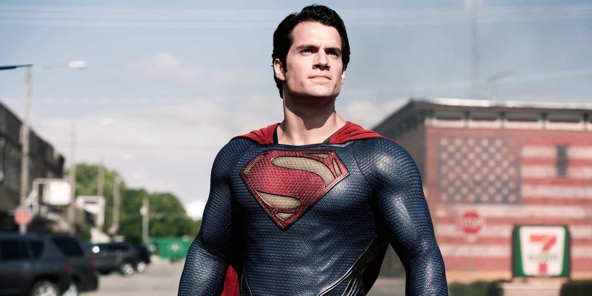 Henry Cavill Snyder Cut Future Superman Shirt Man of Steel Deny Rumors