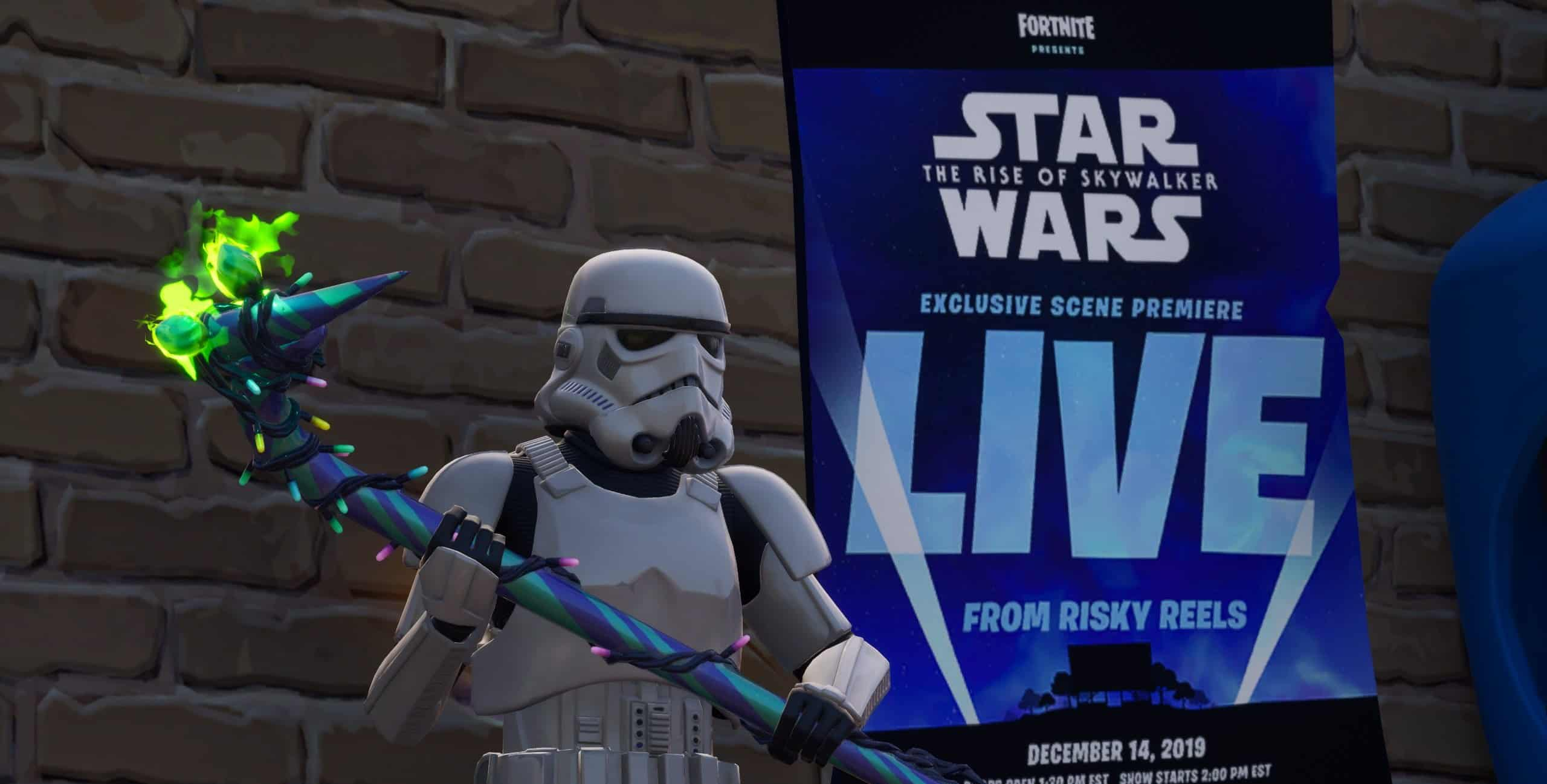 Star Wars Fortnite Event Featured