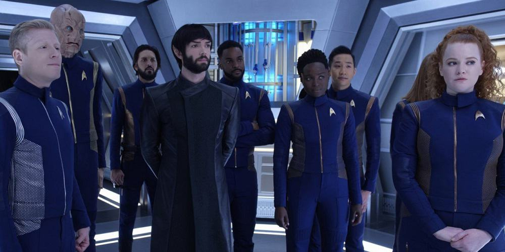 ViacomCBS deal reunites Star Trek Discovery Group Shot