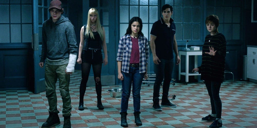 A scene from The New Mutants trailer.