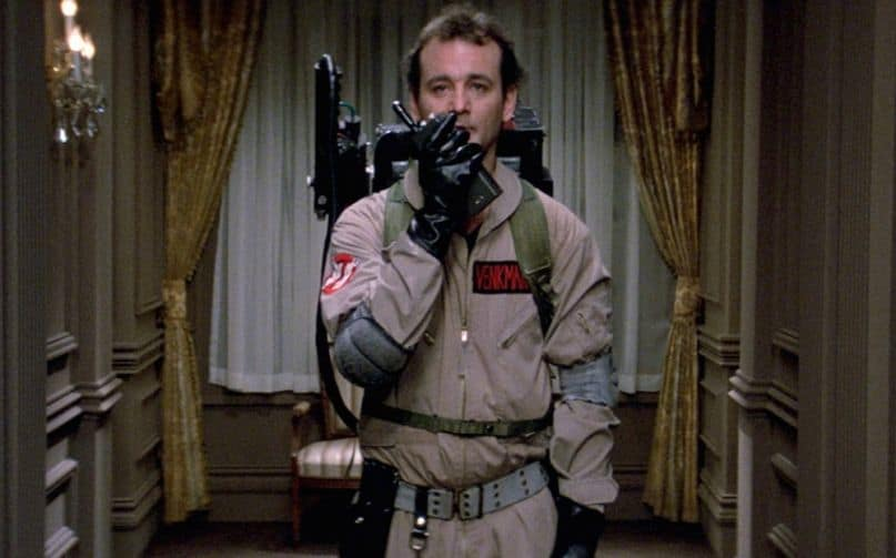 Raw Footage of Iconic Ghostbusters Scene Shows Reality of Visual Effects