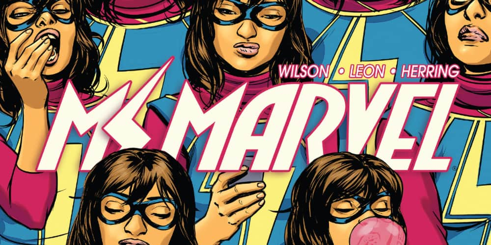 Ms Marvel, G Willow Wilson, Kamala Khan, Marvel Comics, Women's History Month