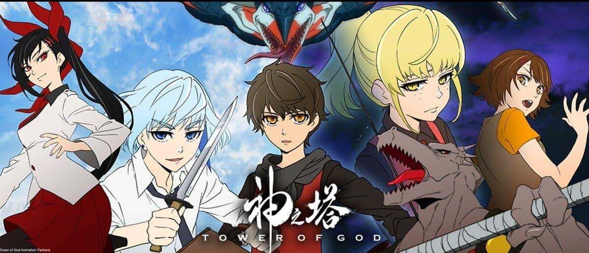 Tower Of God character trailer poster.